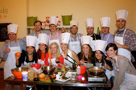 Taste Buds Kitchen NYC: Cooking Team Building Event BYOB