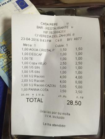 El Burgo, España: Restaurante Casa Pepe