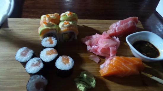 Uvongo, Sudáfrica: Sushi Platter