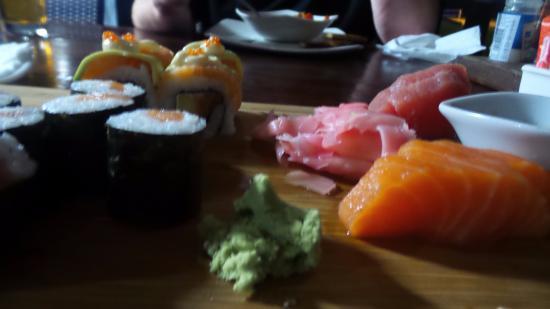 Uvongo, Zuid-Afrika: Sushi Platter