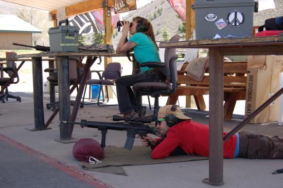 Sun Valley, ID: Long range shooting