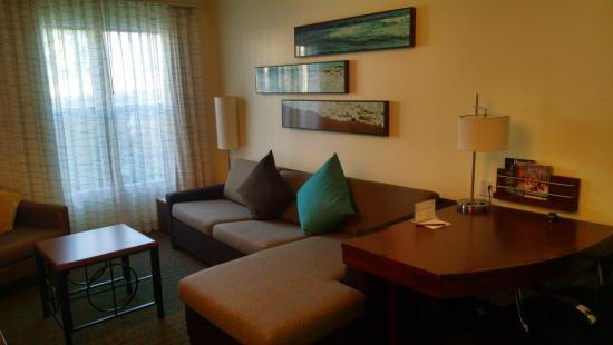 living room area of king studio suite at residence inn san diego rh tripadvisor com