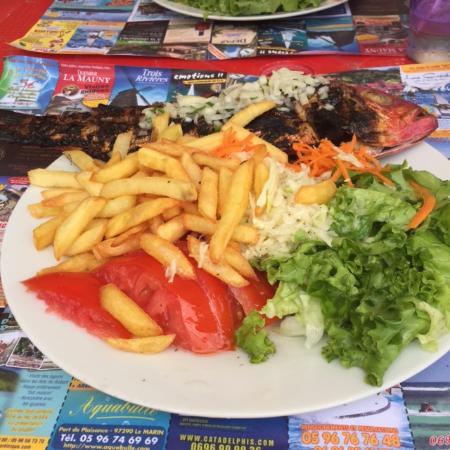 Langouste grill e picture of le balaou les anses d 39 arlet tripadvisor - Restaurant poisson grille paris ...