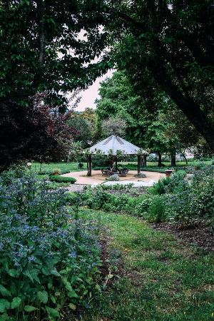 Boonville Hotel's organic garden