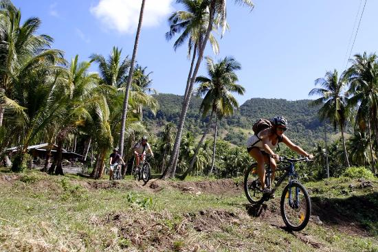 Anda, Philippines: Biking tour around mountains