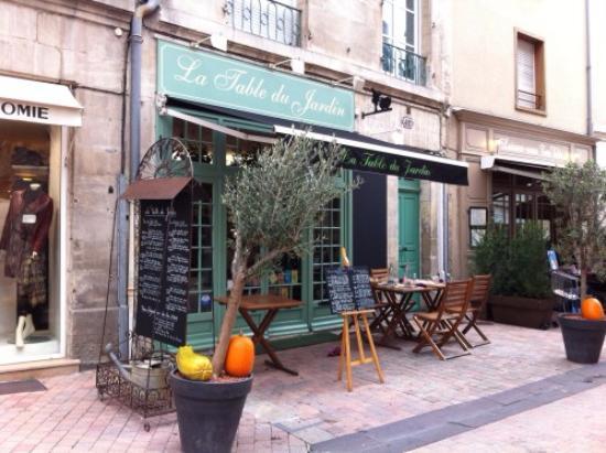 Restaurant la table du jardin dans poitiers avec cuisine for La table parisienne poitiers