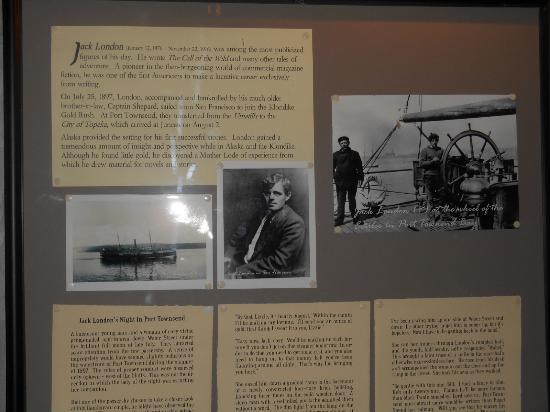 Jefferson Museum of Art & History: Jack London Exhibit
