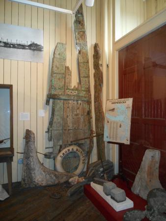 Jefferson Museum of Art & History: Shipwreck Exhibit