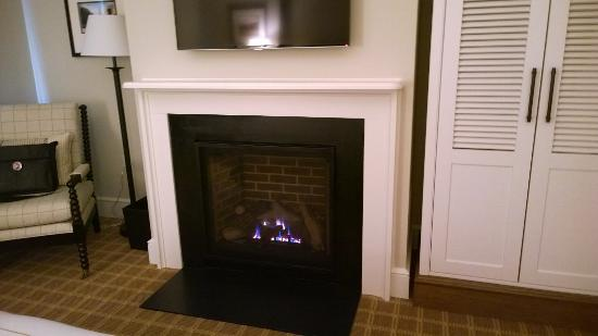 in room gas fireplace nice touch picture of kimpton taconic rh tripadvisor com