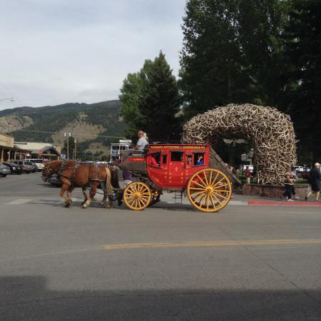 ‪‪Vintage Jackson Hole‬: Take the Stage Coach Ride‬