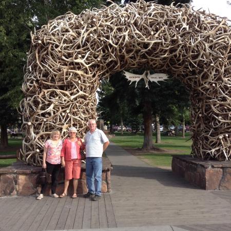 Jackson Hole, WY: Antler Park - All Four Corners