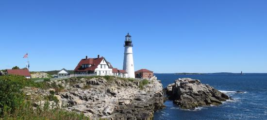 Portland Head Lighthouse Picture Of New England Lighthouse Tours