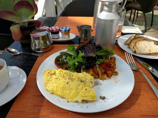 BLT Steak Miami: My omelette