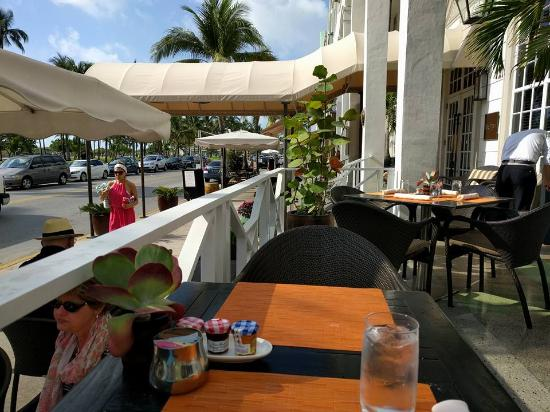 BLT Steak Miami: The view from the table