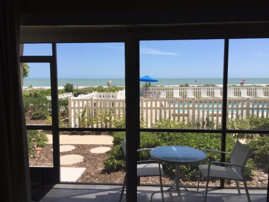 Ocean's Reach Condominiums: View from our room.