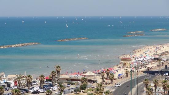 Dan Panorama Tel Aviv: The view from room 1307.