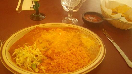 Camino Real: Tamale, enchilada & relleno combo
