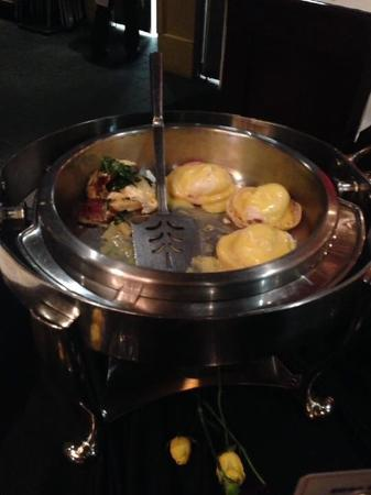 eggs benedict picture of papadeaux seafood restaurant houston rh tripadvisor com
