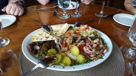 Delicieux Appetizer Signature Sampler   Picture Of Agora Mediterranean Kitchen .