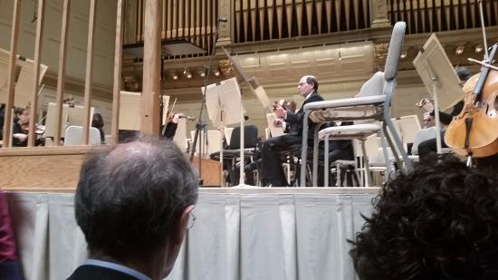 Boston Symphony Orchestra : You can be this close