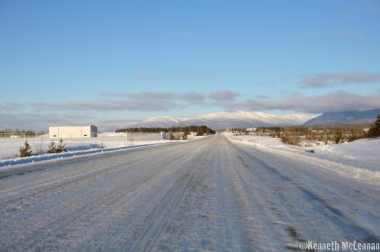 Prince George, Canadá: Winter Road, Mackenzie, BC