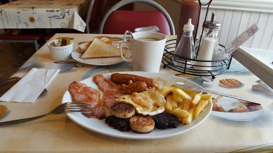 Leenane, Irlanda: Everything a irish breakfast should have
