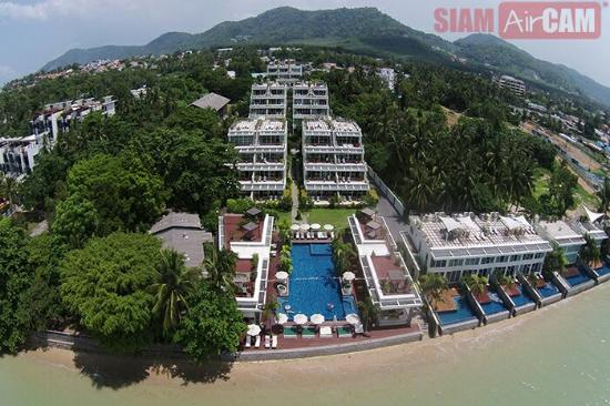 Serenity resort from aerial shot by Siam Air Cam - Picture of