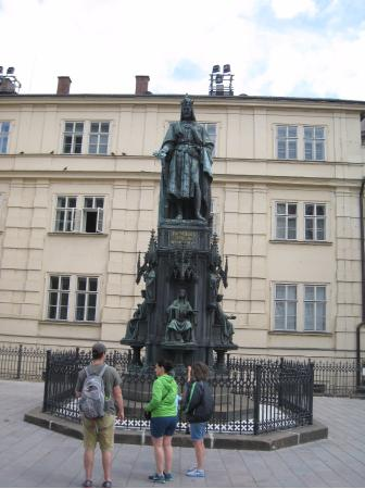 Karel IV. Monument