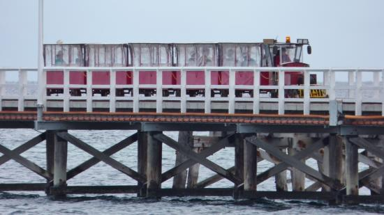 Busselton, Australien: Jetty train