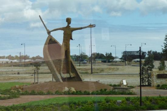 Sculpture at Busselton