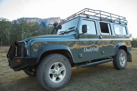 Wolgan Valley, Australia: Resort prefered mode of travel
