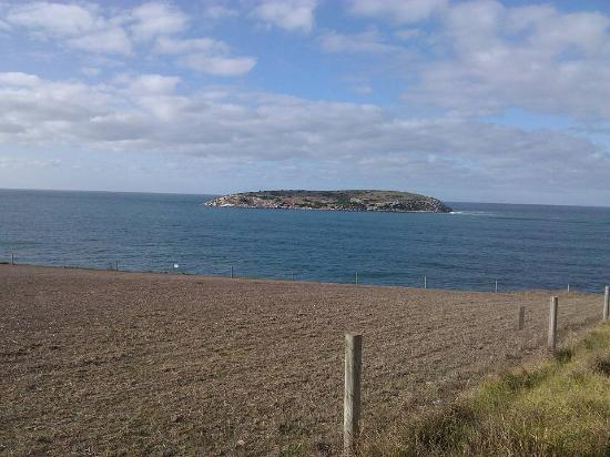 Cape Jervis, Australia: view from kings beach car park