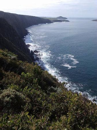 Cape Jervis, Australia: view eastwards towards the Bluff