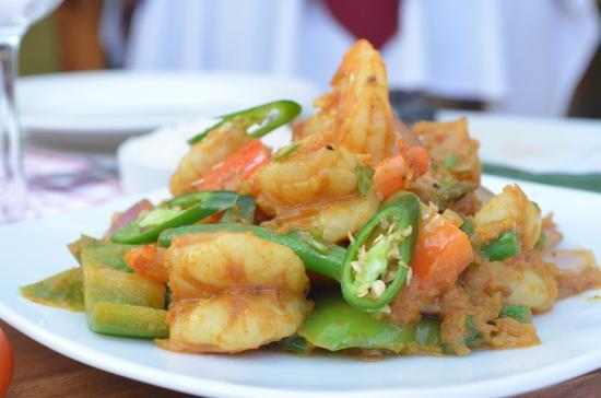 Taste Of Nepal: Chilli Prawn