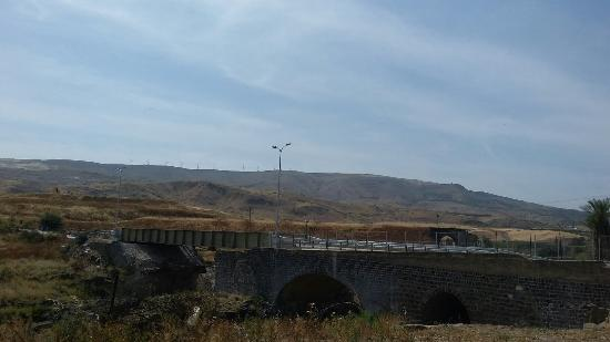 Northern District, Israel: The view in Naharayim