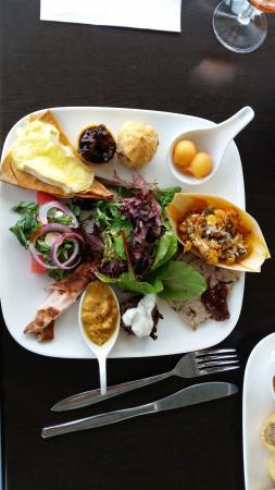 Blacklea Vineyard & Olive Grove : The amazing food