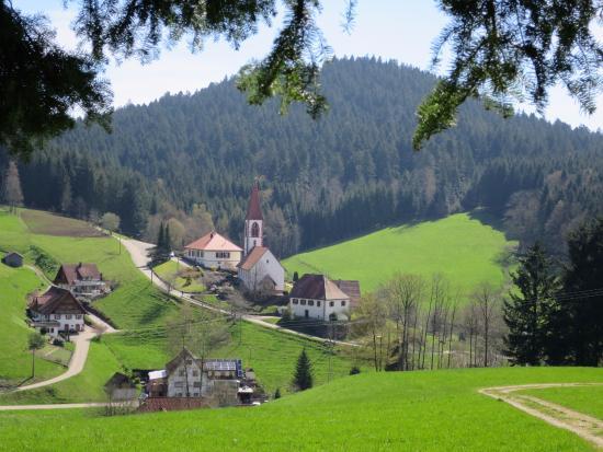 Wolfach - St. Roman, Tyskland: Balade aux alentours