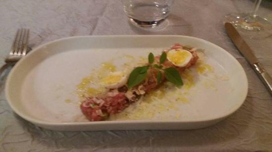 Tartare de veau photo de la table d 39 emilie marseillan tripadvisor - La table d emilie marseillan menu ...