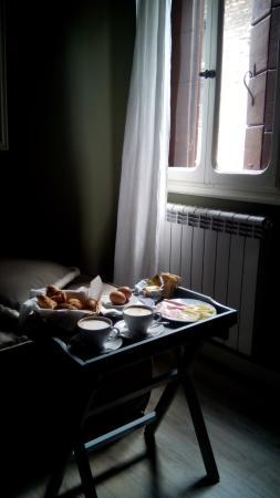 Casa Fornaretto: завтрак