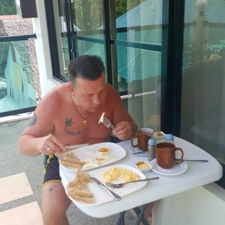 Turtle Inn Resort: Завтрак