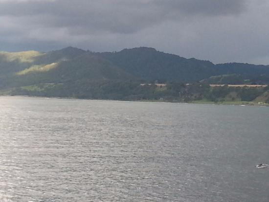 Waihau Bay, New Zealand: great for fishing -well off the beaten track