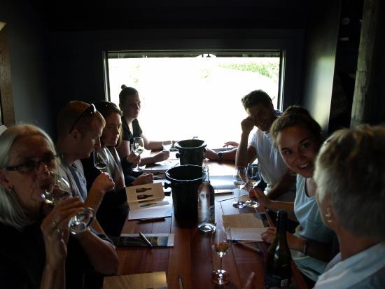 Μπλένχαϊμ, Νέα Ζηλανδία: Wine tasting at Saint Clair Winery in Marlborough