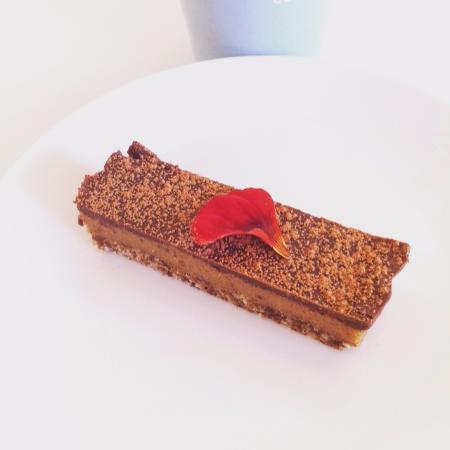 Mapua, Nieuw-Zeeland: Raw caramel slice :)