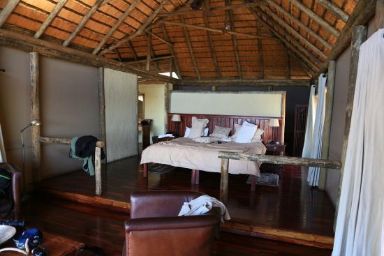 Lagoon Camp - Kwando Safaris : Onze kamer
