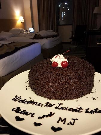 Luxent Hotel: Sweet surprise
