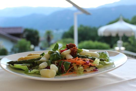 Hotel Rotwand : Spargelvorspeise- Antipasto di asparagi