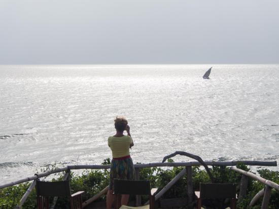 Pangani, Tanzania: Cliff view point