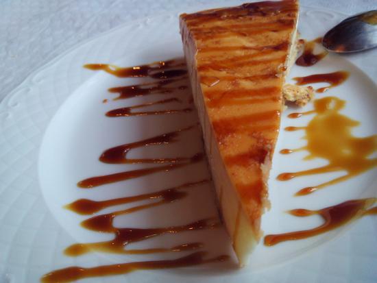 Infiesto, สเปน: Tarta de queso casera