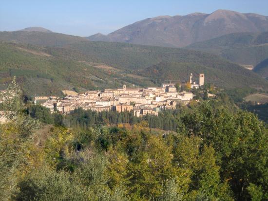 Nocera Umbra, Italië: Panorama