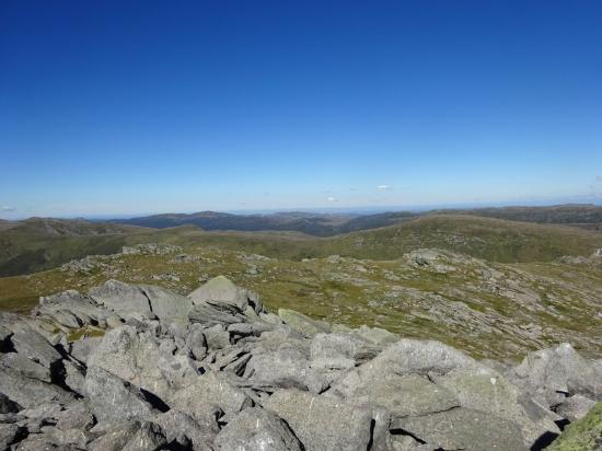 Kosciuszko National Park, Australia: View from Mount Townsend